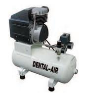 Компрессор воздушный безмасляный 100 л/мин DENTAL AIR 1 с кожухом
