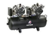 Компрессор Cattani 320 л/мин на 5-6 установок двухмоторный