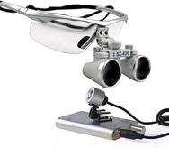 Лупа бинокулярная СМ350 с подсветкой