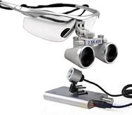 Лупа бинокулярная СМ250 с подсветкой