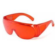 Защитные очки для врача (оранжевые)