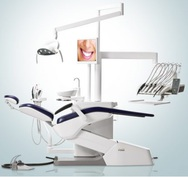 Стоматологическая установка FONA 2000 L с нижней подачей инструментов
