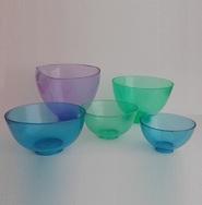 Чаша для замешивания гипса, супергипса, альгината, силикона, полиуретана и эпоксидной смолы (ПВХ)