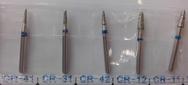 Бор алмазный серии CR (для препарирования), зернистость стандартная