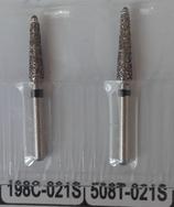 Бор алмазный для препарирования под коронку, зернистость супер крупная 198C-021S