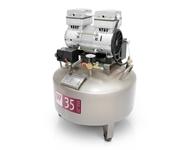 Компрессор WU WEI 35л. (W-602 - 550w, производительность 70л/мин, для 1 установки)