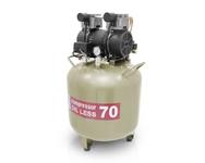 Компрессор WU WEI 70л. (W-603, производительность 130л/мин, для 1-2 установок)