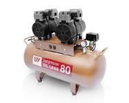 Компрессор WU WEI 80л. (W-604, произодительность 170л/мин, для 2 установок)