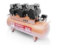 Компрессор WU WEI 105л. (W-606, производительность 255/мин, для 2-3 установок)