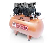 Компрессор WU WEI 110л. (W-608, производительность 260/мин, для 2-3 установок)