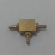 Коннектор стальной Т-образный KSP-224
