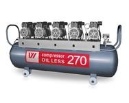 Компрессор WU WEI 270л. (W-615, производительность 650л/мин, для 5-6 установок)