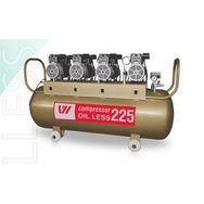 Компрессор WU WEI 225л. (W-613, производительность 520л/мин, для 4-5 установок)