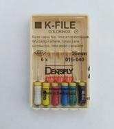 К-файлы 25mm, 6шт/уп - 015-040
